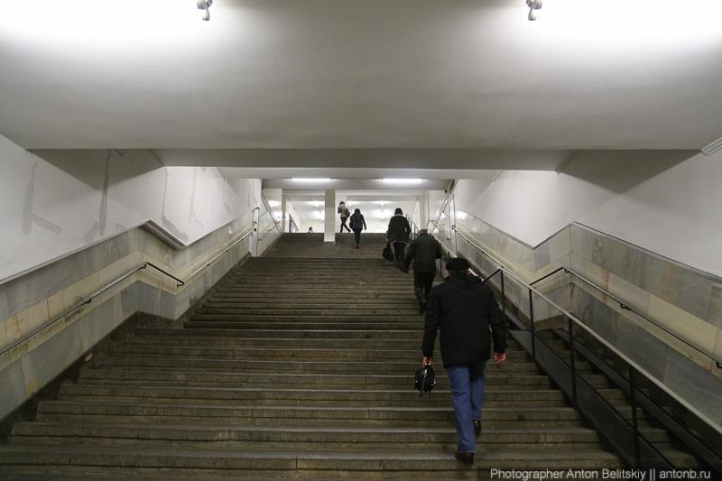 Переход на площади Маяковского
