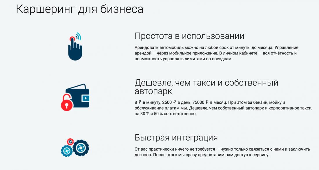 BelkaCar для бизнеса