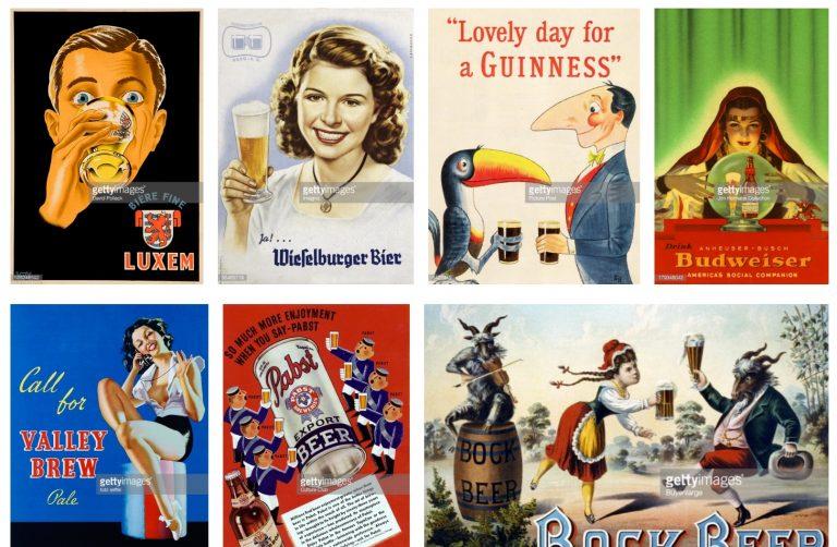 Реклама пива начала XX века
