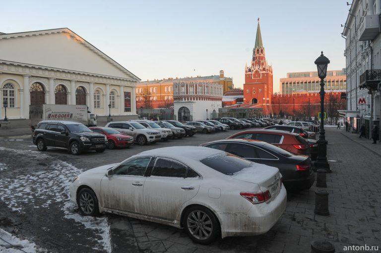 Самая центральная парковка Москвы